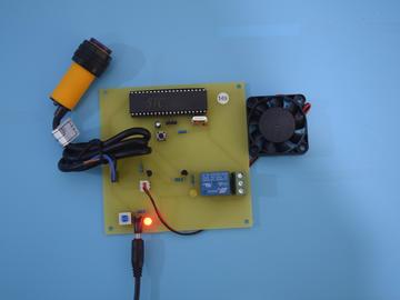 51单片机智能红外洗手器干手器风扇烘干系统149-(pcb+源码+电路图+参考文档)