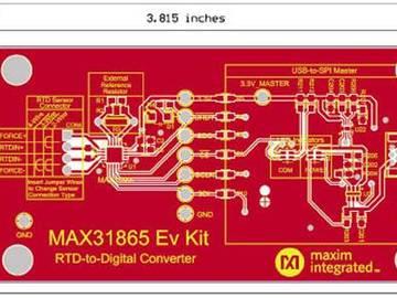 完全集成的RTD数字转换器MAX31865,打造完美温湿度检测方案