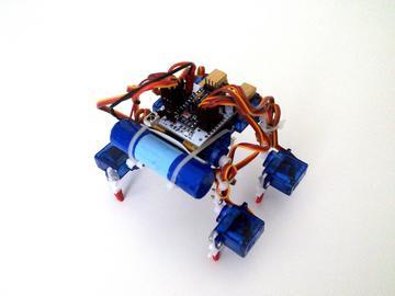 国外大神教你制作小型行走机器人