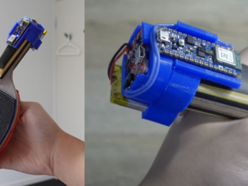 基于 Arduino 的 AI 乒乓球拍