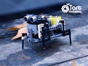 使用Arduino,3D打印和Lego兼容零件制造自己的四足机器人