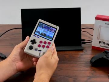 树莓派4GameBoy开机及电池测试