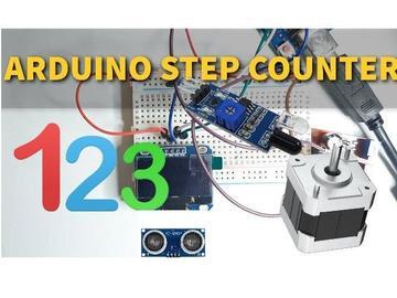 使用Arduino的简单计步器,计数器