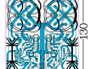 几乎接近电池效果的稳压电源的电路方案设计(双电源版本、pcb、原理图)