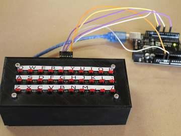基于Arduino 的自制键盘