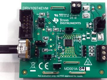 基于DRV10974的12V三相无传感器BLDC电机驱动器模块电路设计