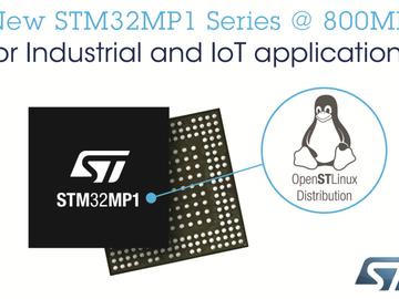 巩固产品生态系统,STM32微处理器性能升级