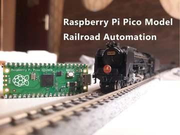 基于树莓派控制的简单自动化模型铁路