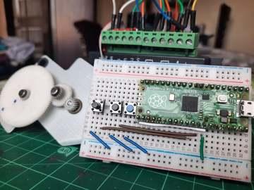 基于树莓派的简易控制步进电机