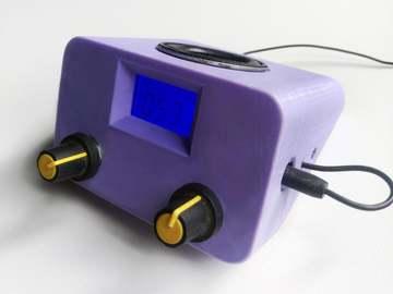 自制3D 打印迷你收音机和扩音器