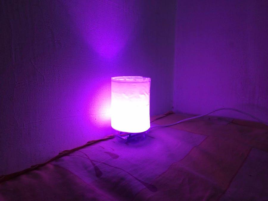 打造簡單的IoT RGB床燈