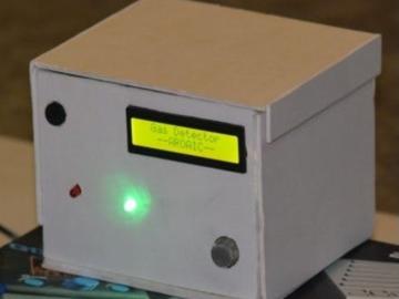 基于Arduino UNO的气体智能监控系统