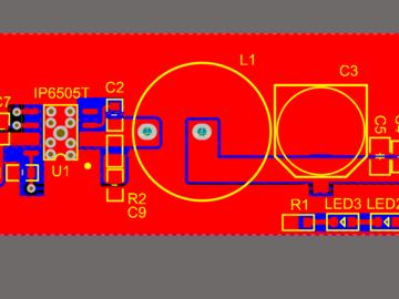英集芯IP6505T电路方案(原理图+pcb)