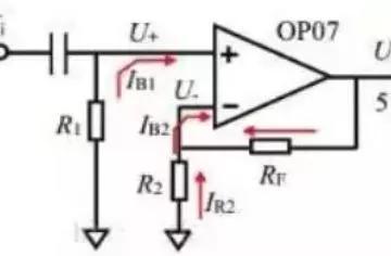 运算放大器常见指标分析:失调电压、偏执电流、失调电流等