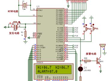 基于51单片机的无线ph水质监测设计2.4g上传-仅论文(论文里有电路图PROTEUS仿真图程序)