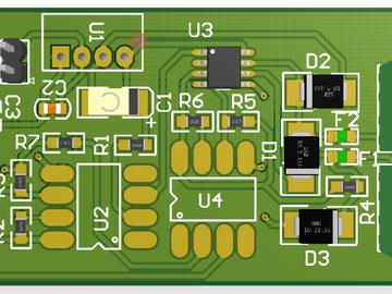 TTL电平转485的电路方案设计,附原理图