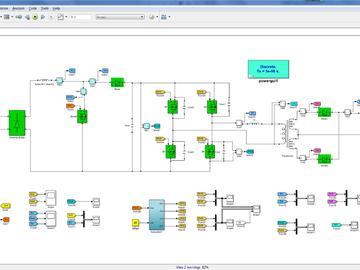 单相Boost PFC移相全桥整机MatlabSimulink仿真模型电源学习mathcad计算