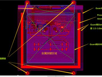 基于Microchip PIC16LF1559的智慧酒店触控面板方案