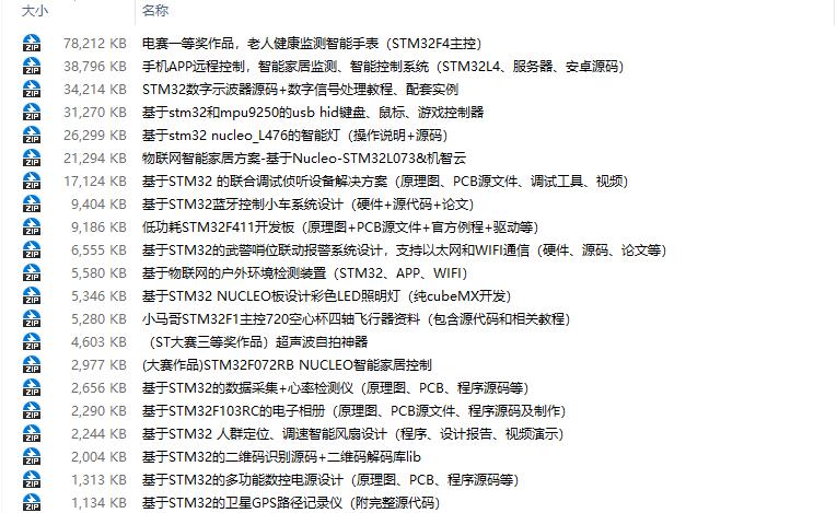 22個易上手的STM32項目