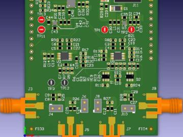 基于DAC80508的热像仪中微测热辐射计探测器的超低噪声偏置电压参考设计