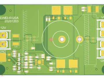 LED全彩显示屏电源板5V20A