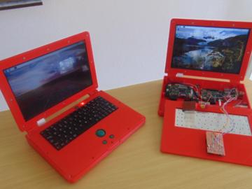 基于树莓派和3D打印外壳的便携式计算机DIY