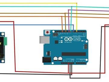 如何使用 Visuino 程序将 SSD1331 OLED 显示器和 ST7789 显示器连接到 Arduino