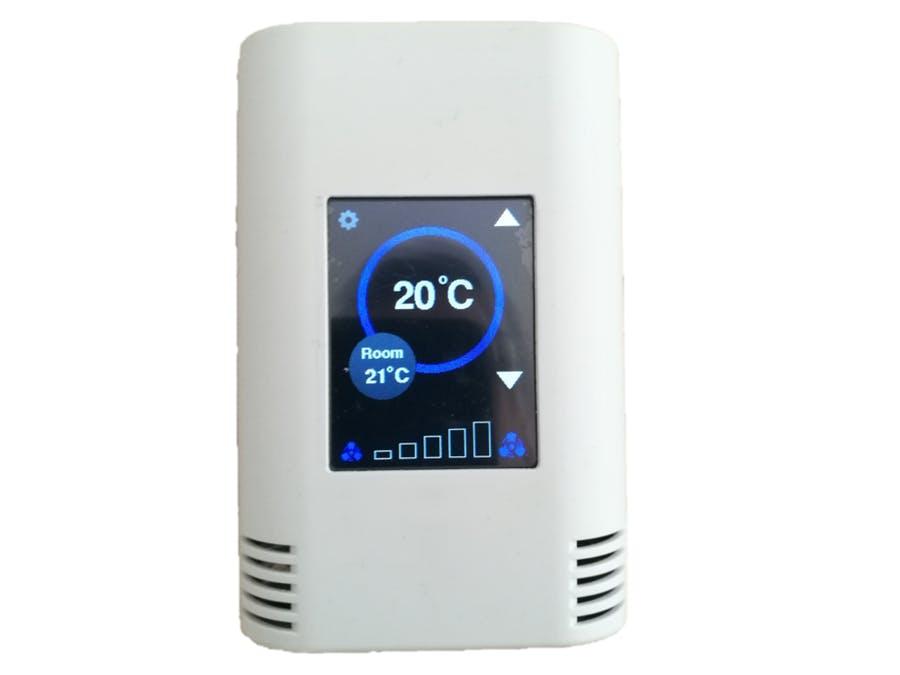 带Arduino MKR的触摸屏温控器