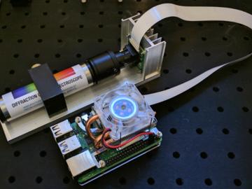 DIY树莓派光谱仪