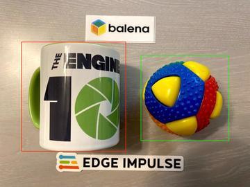 基于Balena OS的边缘脉冲对象检测