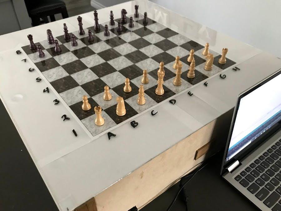 自動棋盤,來場對弈吧!