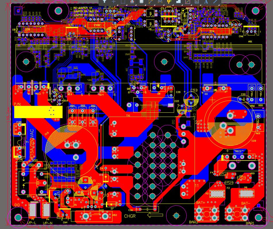 1KW反激电源(有源钳位)