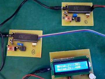 基于51单片机两路噪声监测zigbee传输设计