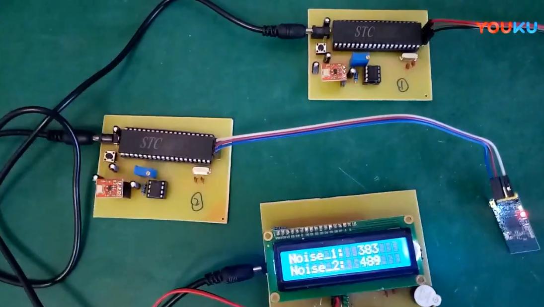 基于51單片機兩路噪聲監測zigbee傳輸設計