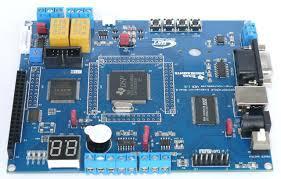 基于DSP2407 开发板实现键控调节LED的电路方案设计(pcb+原理图+源码)