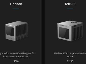 大疆发布高性能低成本的激光雷达技术Horizon和Tele-15,自动驾驶梦想照进现实