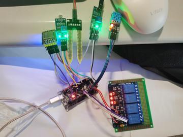 基于Onenet云平台的智能温室监控系统(源码)