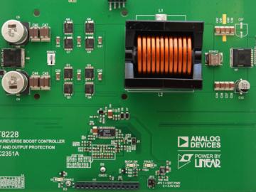 基于LT8228具有反向电源、反向电流和故障保护功能的双向同步 100V 降压/升压控制器电路设计