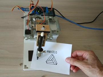 基于Arduino的迷你CNC 2D绘图仪
