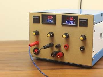 DIY 双通道可变实验台电源 30V 10A 300W