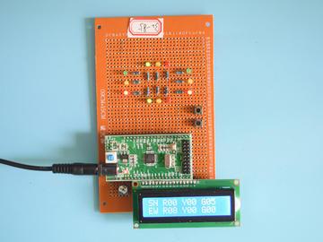 基于STM32单片机的智能交通灯红绿灯系统液晶显示设计-万用板-电路图+程序+论文85