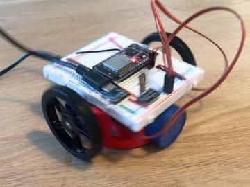 使用在ESP32上运行的TensorFlow Lite创建一个语音控制的机器人