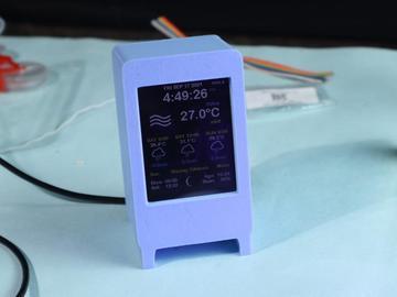 基于 ESP8266 的DIY简单气象仪