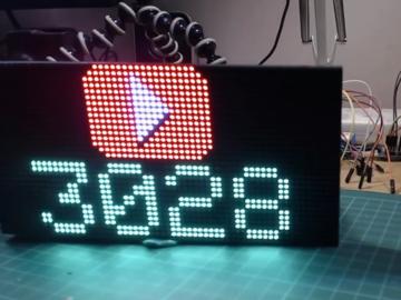 使用Arduino的ESP32 16x32 RGB LED矩阵