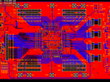 EP3C16Q240C8 Cyclone III  ALTERA FPGA开发板AD版硬件原理图+PCB文件