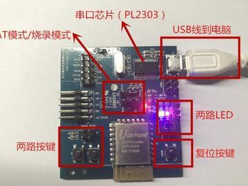 基于集贤UA402D模块之 Mars Gate ® WiFi和2.4G网关方案