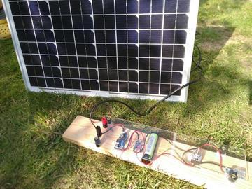 太阳能电池板USB充电器