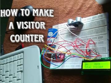 如何制作双向访客计数器