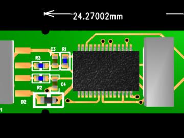 安全KEY U盾 密码器 加密狗 USBKEY 硬件认证钥匙 10拼板Protel 99se 设计硬件原理图+PCB文件