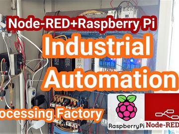 基于Node-RED和Raspberry Pi的工业自动化